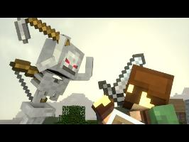 Skeleton Life - Tim's Adventure - Minecraft Animation