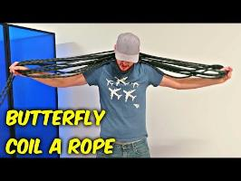 How To Butterfly Coil a Rope?