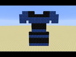 The Dress in Minecraft