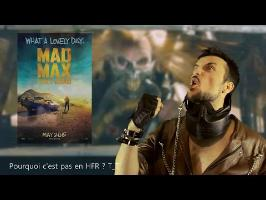 MAD MAX Fury Road - Chrono-Critique par Benzaie