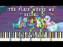 MLP:FIM -The Place Where We Belong for Synthesia