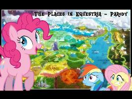Pinkie Sings: The Places in Equestria - Periodic Table of Elements Parody