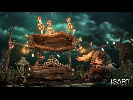 CGI Animated Shorts HD: TOMBES & MANÈGES - by Isart Digital