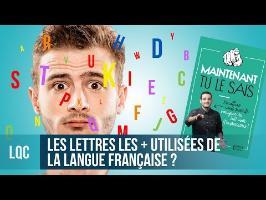 LQC - Quelles sont les lettres les plus utilisées dans un livre ?