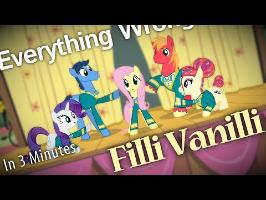 (Parody) Everything Wrong With Filli Vanilli in 3 Minutes