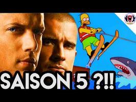 CES SÉRIES TROP LONGUES : PRISON BREAK saison 5 - FERMEZ LA !