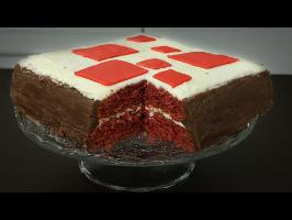 [FR] Gâteau Minecraft IRL avec Tartine Silverlight !