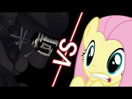 Alien vs Fluttershy