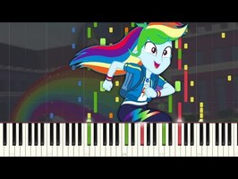 Run to Break Free - MLP:EQG - Synthesia [Piano Tutorial]