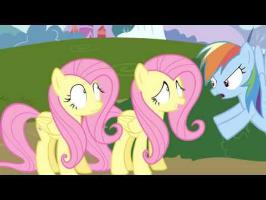 When Two Fluttershys Collide (Animation)