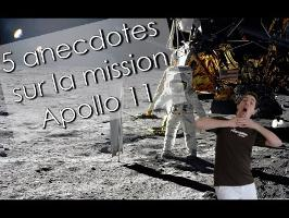 5 anecdotes sur la mission Apollo 11