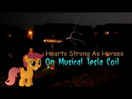 Musical Tesla Coil - Hearts Strong as Horses