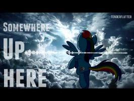Somewhere up here - TenderFlutter