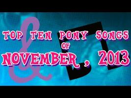Top 10 Pony Songs of November 2013