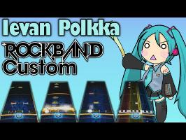 Ievan Polkka - Hatsune Miku [Rock Band 3 Custom]