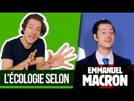 L'ÉCOLOGIE SELON MACRON