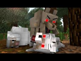 Wolf Life - Minecraft Animation