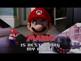 Mario is Destroying my house