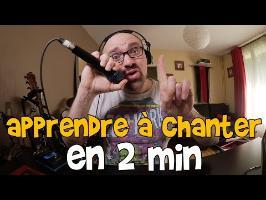 apprendre a chanter en 2 min