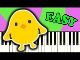 THE CHICKEN DANCE - Easy Piano Tutorial