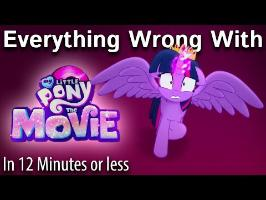 (Parody) Everything Wrong With MLP: The Movie in 12 Minutes or Less