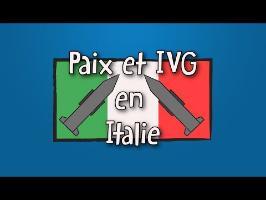 Paix et IVG en Italie