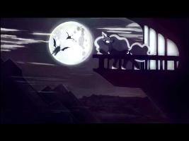 Przewalski's Ponies - Full Moon