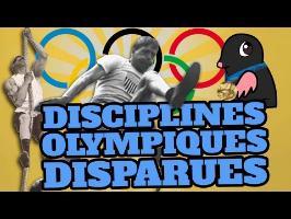 TOP 10 des DISCIPLINES OLYMPIQUES disparues