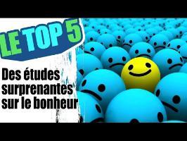 Le top 5 des études surprenantes sur le bonheur