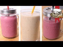 Recette fitness : Compilation de smoothie