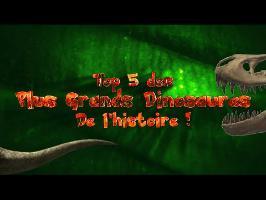 ETH - TOP 5 des Plus Grands Dinosaures de l'Histoire !