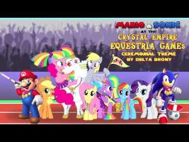 Mario and Sonic at the Crystal Empire Equestria Games (Ceremonial Theme)