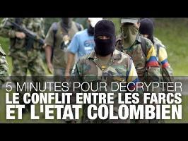 5 minutes pour décrypter le conflit entre les Farcs et la Colombie