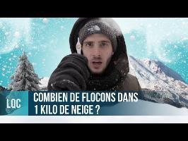 LQC - Combien de flocons dans 1Kg de neige ?