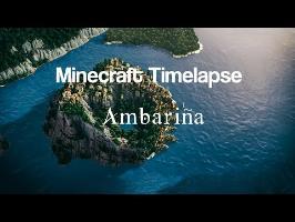 Minecraft Timelapse | Ambariña, a Medieval Mediterranean City