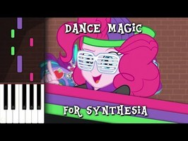 Dance Magic - MLP:EQG - Synthesia [Piano Cover]