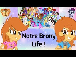 Vidéo 200 : On vous raconte notre brony life !! MLPcoverFRENCH