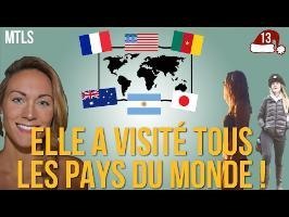 MTLS - La première femme à visiter tous les pays du monde !