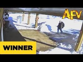 Snow Shoveling Snafu - AFV Prize Winner - AFV