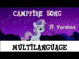 [Multilanguage] My Little Pony - Campfire Song - Sweetie Belle (19 Versions) [HD]