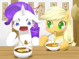The Worst Possible Thing - Rarity Eats Noodles