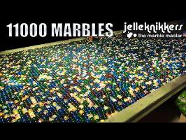Big Marble Run Machine: 11 000 Marbles!!!