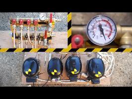 Fabrication d'une Pompe à vide + Compresseur géants ! - Vlog Bricolage #17