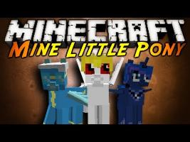 Minecraft Mod Showcase : MINE LITTLE PONY!