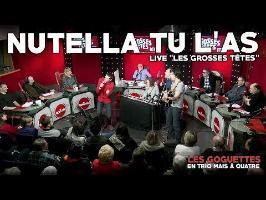 Nutella tu l'as (live RTL) - Les Goguettes (en trio mais à quatre)