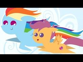 Animation - FLIGHT - Scootaloo Sings [PMV] (MLP)