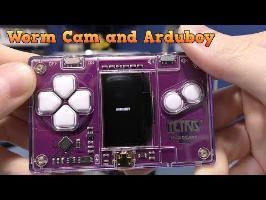 Nyko Worm Cam and Arduboy credit card Tetris Game