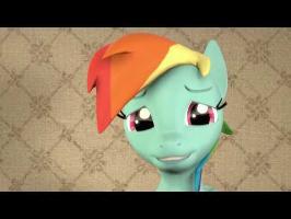 Rainbow Dash has a Motivational Message [Pony SFM]