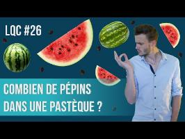 Combien de pépins dans une pastèque ? LQC #26