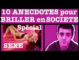 10 Anecdotes pour briller en société #3 - Spécial sexe